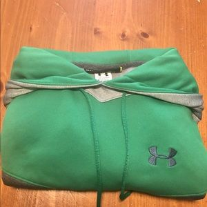 Men's Under Armour tri-color hoodie-size Small